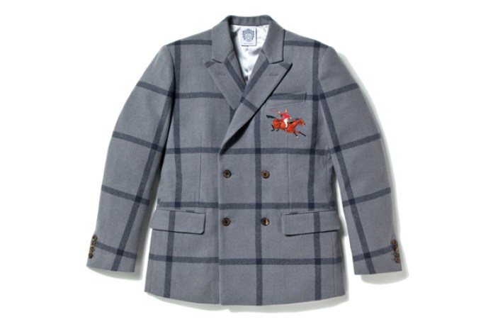 Billionaire Boys Club Wool Check Double Breasted Jacket
