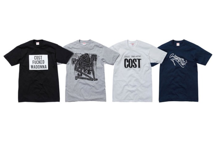 Cost for Supreme 2010 Fall/Winter Collection