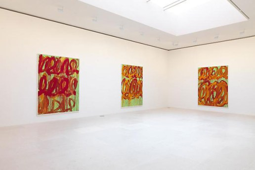 "Cy Twombly ""Camino Real"" Exhibition @ Gagosian Gallery Paris"