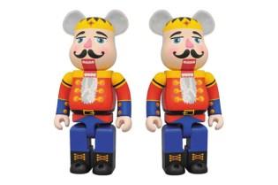 "Dr. Romanelli x Medicom Toy ""DRX-Mas"" 400% Nutcracker Bearbrick"