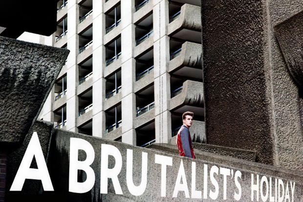 "FLAUNT Magazine ""A Brutalist's Holiday"" Editorial"