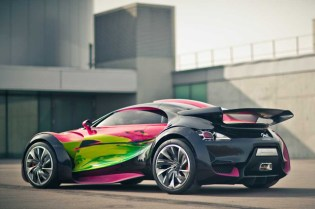 Francoise Nielly x CITROËN Survolt Concept Car