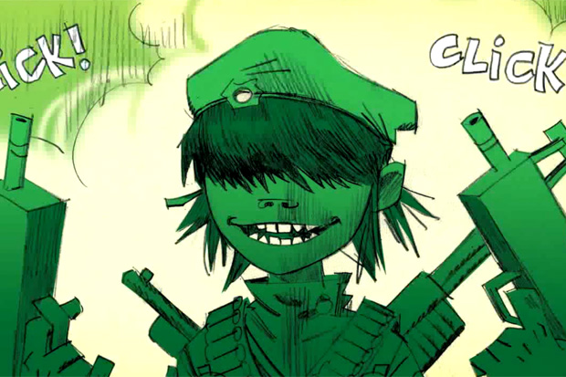 Gorillaz Rhinestone Eyes Storyboard Film