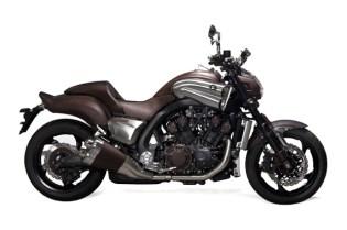 Hermes x Yamaha VMax Concept Bike