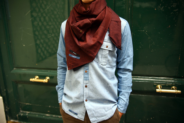 HIXSEPT 2010 Fall/Winter Scarves