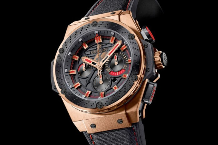 Hublot F1 King Power Gold Watch