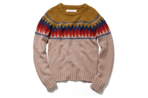 Inpaichthys kerri TRIBAL CREW NECK SWEATER