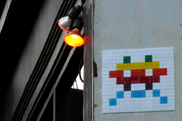"""Invader """"Home Sweet Home"""" Exhibition"""