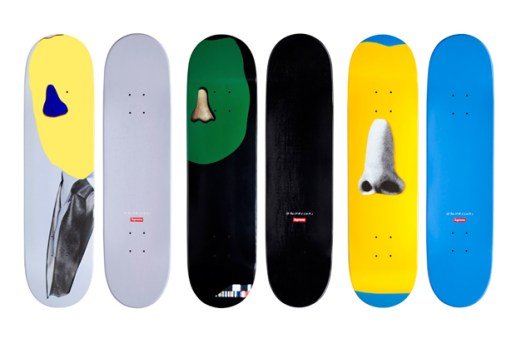 John Baldessari for Supreme Skateboards