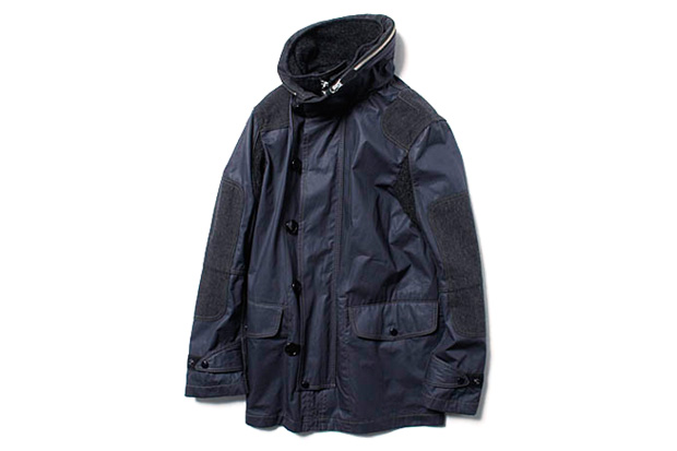 Junya Watanabe COMME des GARCONS MAN Army Cloth Hooded Coat