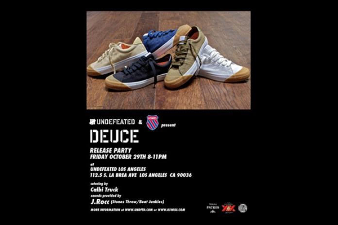 "K-SWISS x UNDFTD ""Deuce"" Release Party"