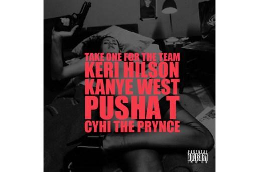 Kanye West featuring Keri Hilson, Pusha T & Cyhi Da Prince - Take One For The Team