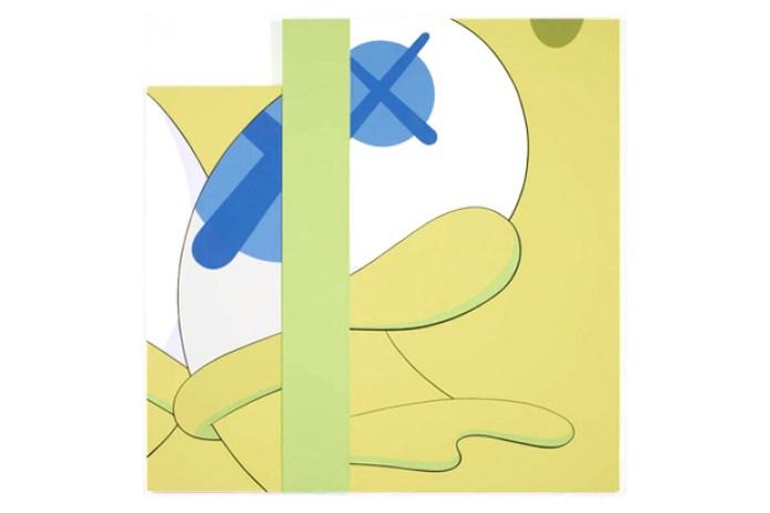 KAWS @ Galerie Emmanuel Perrotin Preview