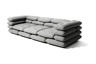 KiBiSi x Versus Brick Sofa