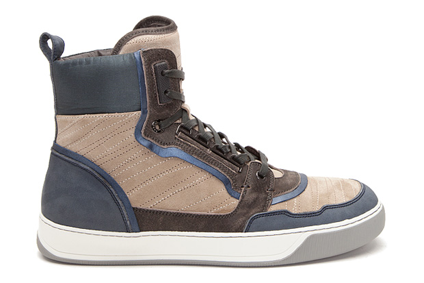 Lanvin Hi-Top Sneakers