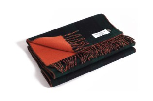London Undercover x ACL & Co. Black Watch Plaid Cashmere Scarf