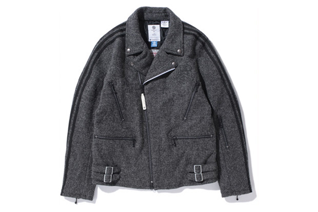 LUKER by NEIGHBORHOOD x adidas Originals by Originals Kazuki Kuraishi x Harris Tweed Rider Jacket