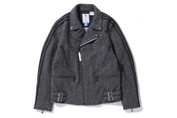 LUKER by NEIGHBORHOOD x adidas Originals by Originals Kazuki Kuraishi x Harris Tweed Rider Jacket