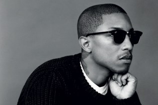 Man About Town 2010 Fall/Winter Issue feat. Pharrell Williams