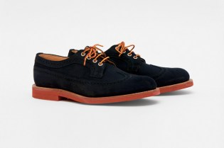 Mark McNairy Suede Long Wing