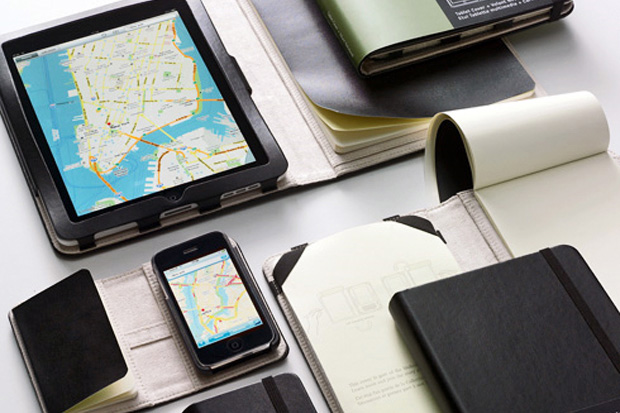 Moleskine Covers for iPhone & iPad