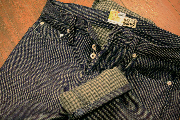 Naked & Famous Limited Edition Houndstooth Denim