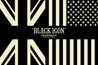 "NEIGHBORHOOD 2nd Series ""BLACK ICON"" Collection November Releases"