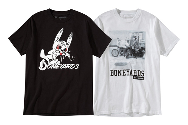 "Stussy x NEIGHBORHOOD Boneyards II ""Conspiracy"" Apparel New Releases"