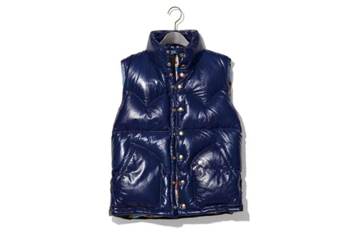 NEXUSVII MADMAXX Leather Down Vest