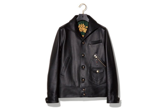 "NEXUSVII ""MADMAXX"" D-POCKET LEATHER JACKET"