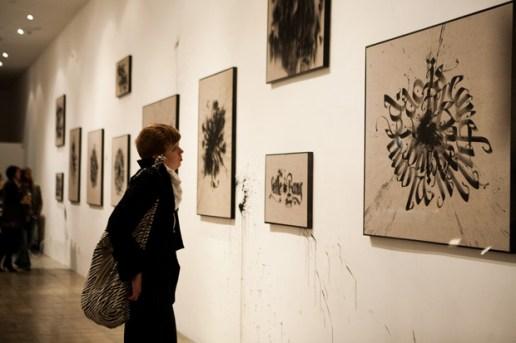 "Niels Shoe Meulman ""Calligraffiti Throw-Ups"" Exhibition"