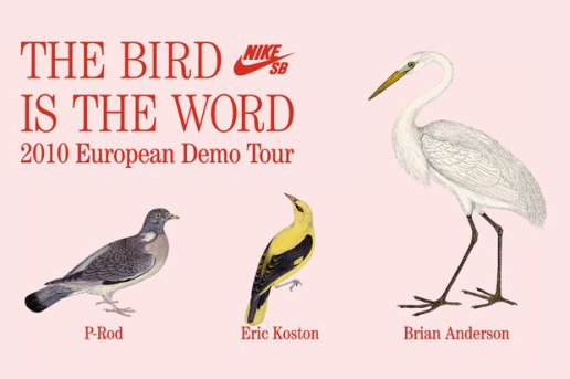 "Nike SB ""The Bird is the Word"" European Tour Videos"