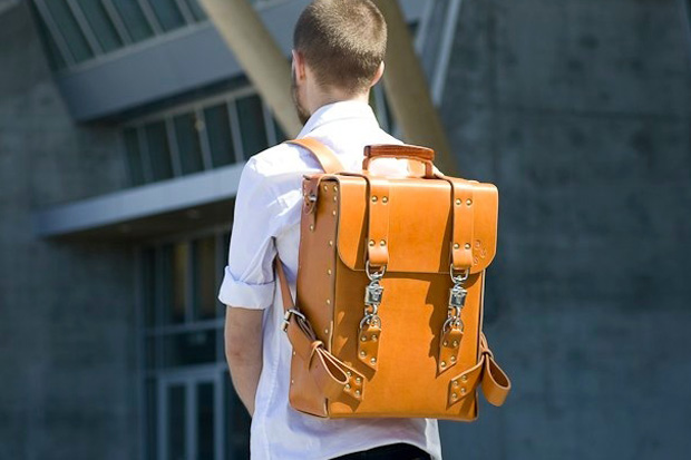 Palmer & Sons Leather Rucksack No. 18