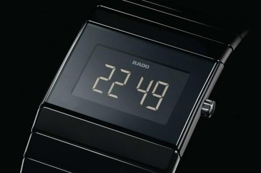 Rado Ceramic Digital Automatic Watch