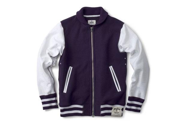 Reigning Champ Fleece Varsity Jacket