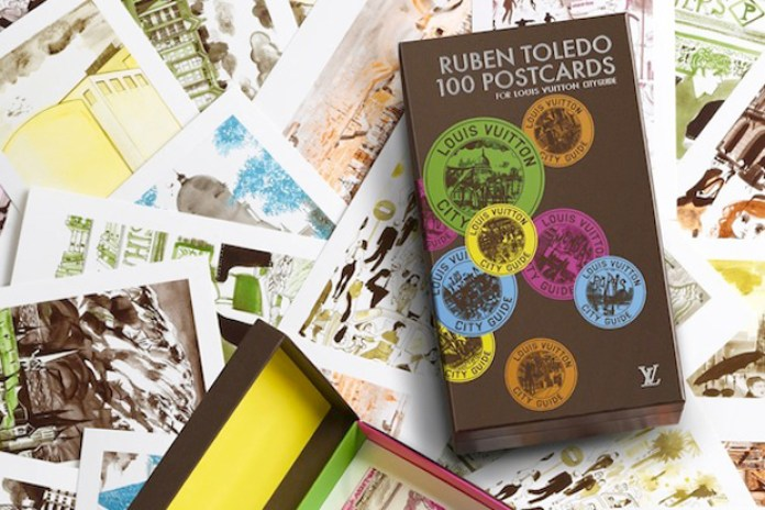 Ruben Toledo 100 Postcards For Louis Vuitton Cityguide