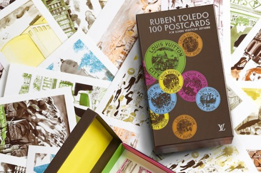 Ruben Toledo 100 Postcards For Louis Vuitton Cityguide