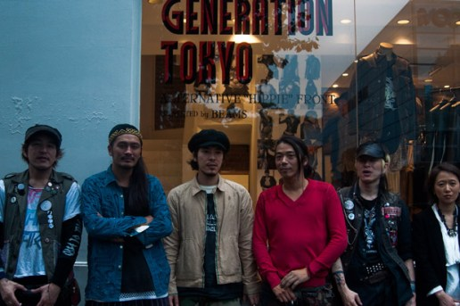 "SASQUATCHfabrix. x BlackMeans x BEAMS ""Generation Tokyo: Alternative Hippie Front"" Pop-Up Shop"