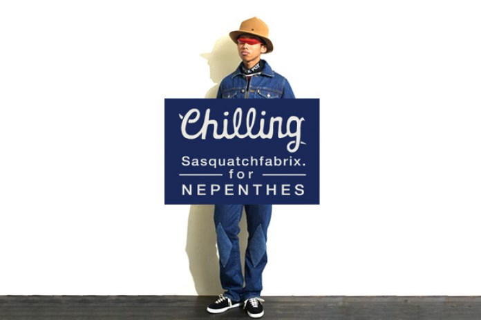 """SASQUATCHfabrix for Nepenthes """"Chilling"""" Collection"""