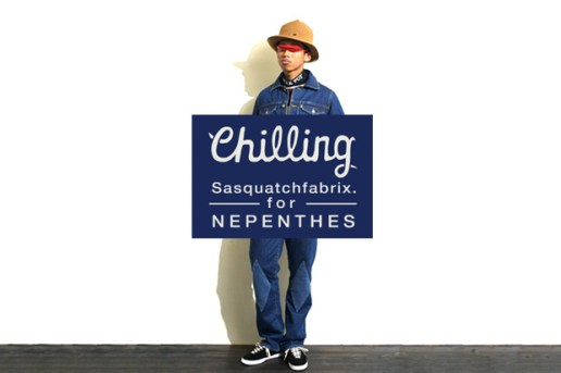 "SASQUATCHfabrix for Nepenthes ""Chilling"" Collection"