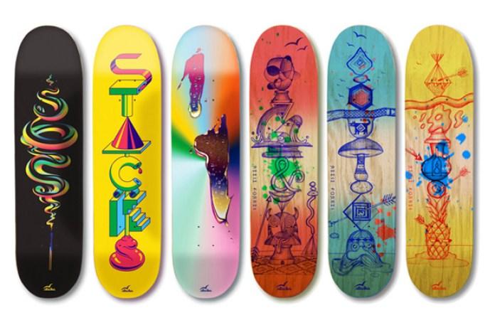 stacks 2010 Holiday Skate Decks