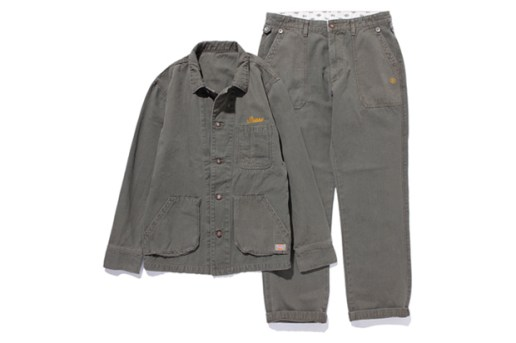 Stussy x Dickies Work Jacket and Pants