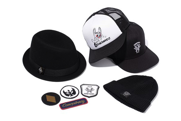 "Stussy x NEIGHBORHOOD Boneyards II ""Conspiracy"" Accessories"
