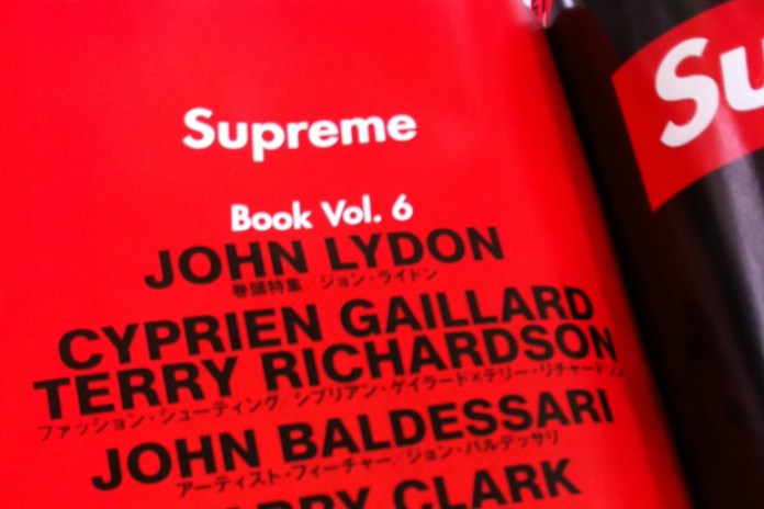 Supreme Book Vol.6 Preview