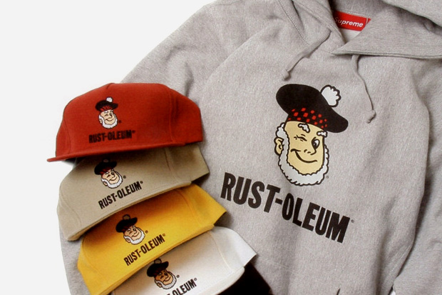 Supreme x Rust-Oleum Collection Preview
