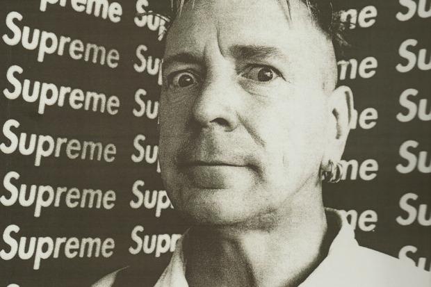 Supreme x John Lydon Tee