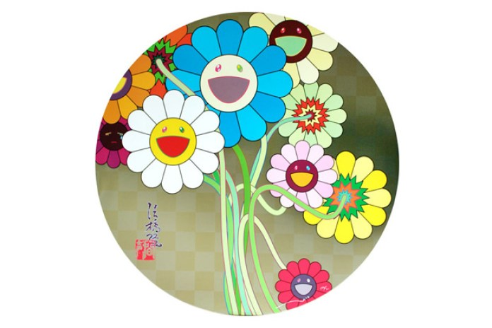 """Takashi Murakami """"Murakami's Flowers"""" Exhibition"""