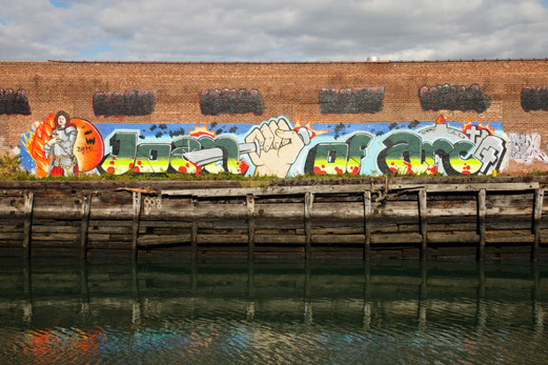 The New York Times: Graffiti of New York's Past, Revived and Remade