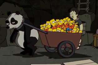 """The New York Times: """"The Simpsons"""" Explains Its Button-Pushing Banksy Opening"""