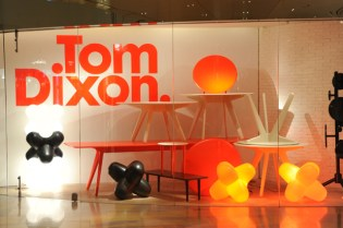 "Tom Dixon ""Industry"" Collection and Pop-Up Café @ Lane Crawford"